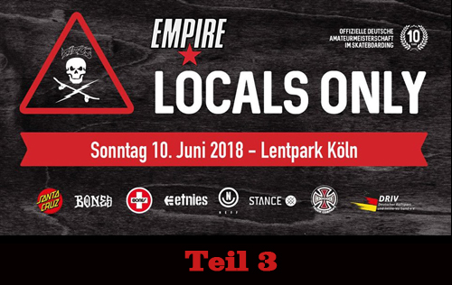 Titus Köln Lentpark – Locals Only Competition 2018