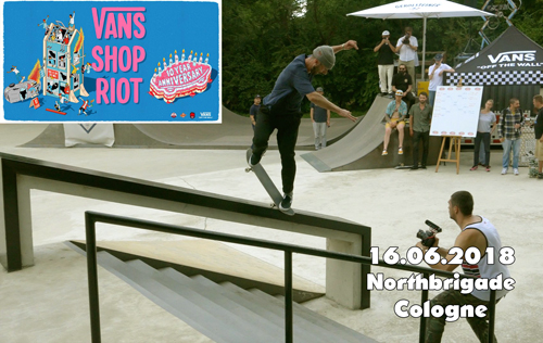 Vans Shop Riot - Skateboard Contest in der Northbrigade