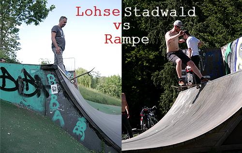 Lohserampe vs Stadwaldrampe
